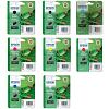 Original Epson T054 Multipack Set Of 8 Ink Cartridges (T0541/2/3/4/7/8/9/0)