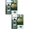 Original Epson T1291 Black Twin Pack Ink Cartridges (C13T12914012)