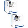 Original Epson T7431 Black Twin Pack Ink Cartridges (C13T74314010)