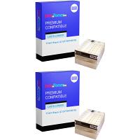 Premium Compatible Epson T7441 Black Twin Pack Ink Cartridges (C13T74414010)