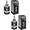 Original Epson T7741 Black Twin Pack Ink Bottles (C13T774140)