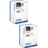 Original Epson T8651 XXL Black Twin Pack Extra High Capacity Ink Cartridges (C13T865140)