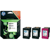 Original HP 300 Black (2 x) & Colour Tri-Pack Ink Cartridges (SD518AE)