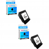 Premium Compatible HP 300 Black Twin Pack Ink Cartridges (CC640EE)