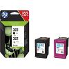 Original HP 301 Black & Colour Combo Pack Ink Cartridges (N9J72AE)