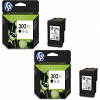 Original HP 302XL Black Twin Pack High Capacity Ink Cartridges (F6U68AE)