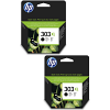 Original HP 303XL Black Twin Pack High Capacity Ink Cartridges (T6N04AE)