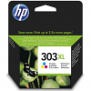 Original HP 303XL Colour High Capacity Ink Cartridge (T6N03AE)