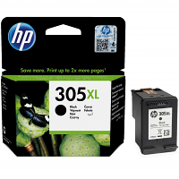 Original HP 305XL Black High Capacity Ink Cartridge (3YM62AE)