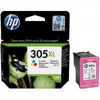 Original HP 305XL Colour High Capacity Ink Cartridge (3YM63AE)