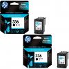 Original HP 336 Black Twin Pack Ink Cartridges (C9362EE)