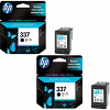 Original HP 337 Black Twin Pack Ink Cartridges (C9364EE)