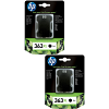 Original HP 363XL Black Twin Pack High Capacity Ink Cartridges (C8719EE)