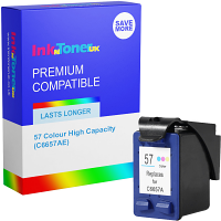 Premium Remanufactured HP 57 Colour High Capacity Ink Cartridge (C6657AE)