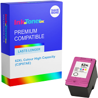 Premium Compatible HP 62XL Colour High Capacity Ink Cartridge (C2P07AE)