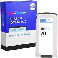 Premium Compatible HP 70 Matte Black Ink Cartridge (C9448A)