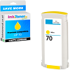Premium Compatible HP 70 Yellow Ink Cartridge (C9454A)