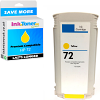 Premium Compatible HP 72 Yellow High Capacity Ink Cartridge (C9373A)