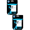 Original HP 84 Black Twin Pack Ink Cartridges (C5016A)