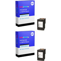 Premium Compatible HP 901 Black Twin Pack Ink Cartridges (CC653A)