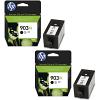 Original HP 903XL Black Twin Pack High Capacity Ink Cartridges (T6M15AE)