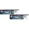 Original HP 913A Black Twin Pack Ink Cartridges (L0R95AE)