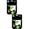 Original HP 934XL Black Twin Pack High Capacity Ink Cartridges (C2P23AE)