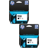 Original HP 950 Black Twin Pack Ink Cartridges (CN049AE)