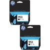 Original HP 953 Black Twin Pack Ink Cartridges (L0S58AE)