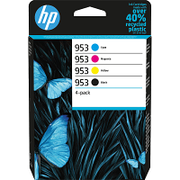 Original HP 953 CMYK Multipack Ink Cartridges (L0S58AE / F6U12AE / F6U13AE / F6U14AE)