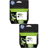 Original HP 953XL Black Twin Pack High Capacity Ink Cartridges (L0S70AE)