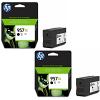 Original HP 957XL Black Twin Pack Extra High Capacity Ink Cartridges (L0R40AE)
