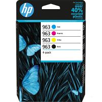 Original HP 963 CMYK Multipack Ink Cartridges (6ZC70AE)