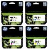 Original HP 967XL / 963XL CMYK Multipack Extra High Capacity Ink Cartridges (3JA31AE/ 3JA27AE/ 3JA28AE/ 3JA29AE)