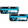 Original HP 970 Black Twin Pack Ink Cartridges (CN621AE)