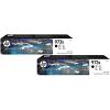 Original HP 973X Black Twin Pack High Capacity Ink Cartridges (L0S07AE)