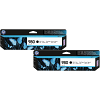 Original HP 980 Black Twin Pack Ink Cartridges (D8J10A)