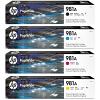 Original HP 981A CMYK Multipack Ink Cartridges (J3M71A / J3M68A / J3M69A / J3M70A)