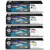 Original HP 991A CMYK Multipack Ink Cartridges (M0J86AE/ M0J74AE/ M0J78AE/ M0J82AE)