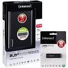 Original Intenso 6026660 1TB 2.5inch External Hard Drive + 8GB USB Flash Drive