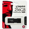 Original Kingston DataTraveler 100 G3 256GB Black USB 3.0 Flash Drive (DT100G3/256GB)
