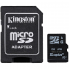 Original Kingston Class 4 8GB MicroSDHC Memory Card and SD Adaptor (SDC4/8GB)