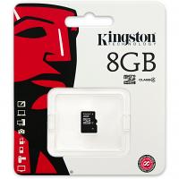 Original Kingston Class 4 8GB MicroSDHC Memory Card (SDC4/8GBSP)