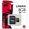 Original Kingston Industrial Temperature 8GB MicroSDHC Memory Card and SD Adaptor (SDCIT/8GB)