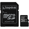 Original Kingston Canvas Select Class 10 16GB MicroSDXC Memory Card with SD Adaptor (SDCS/16GB)