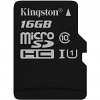Original Kingston Canvas Select Class 10 16GB MicroSDXC Memory Card (SDCS/16GBSP)