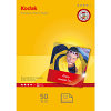 Original Kodak 240gsm Premium A6 Gloss Photo Paper - 50 Sheets (5740-096)