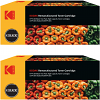 Ultimate HP 410X Black Twin Pack High Capacity Toner Cartridges (CF410X) (Kodak KODCF410X)