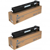 Original Konica Minolta TN-713K Black Twin Pack Toner Cartridges (A9K8150)