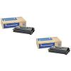 Original Kyocera TK-725 Black Twin Pack Toner Cartridges (TK725)